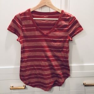 Abercrombie and Fitch striped tee